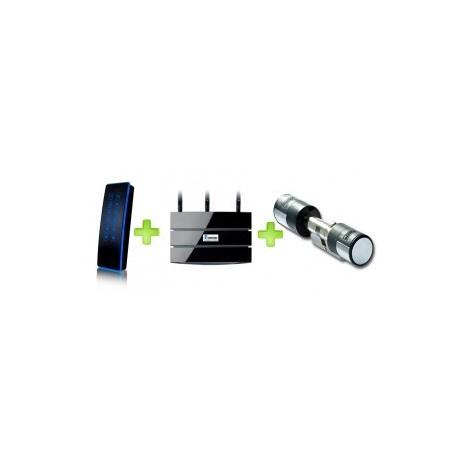 Hcontrol with RFID keypad (backlight) electronic cilinder